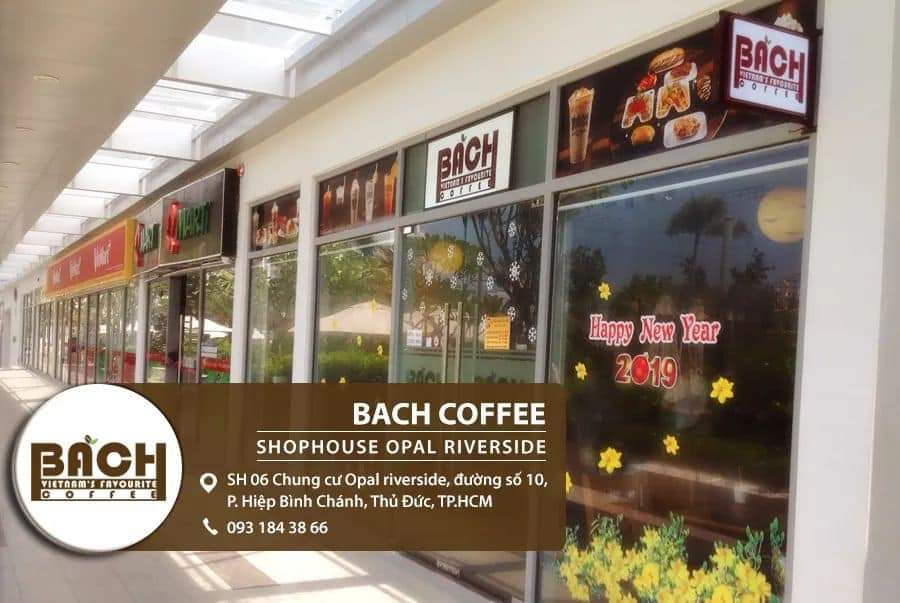 Bachcoffee - Shophouse Opal riverside